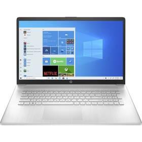 Notebook HP 17-cn0605nc (4A6F4EA#BCM) strieborný