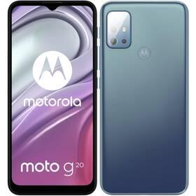 Mobilný telefón Motorola Moto G20 (PANH0005PL) modrý