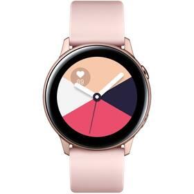 Inteligentné hodinky Samsung Galaxy Watch Active (SM-R500NZDAXEZ) ružová/zlatá