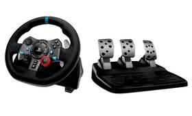 Volant Logitech G29 Driving Force pro PS3, PS4, PC + pedály (941-000112) čierny