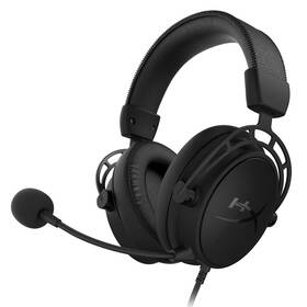 Headset HyperX Cloud Alpha S - Blackout (HX-HSCAS-BK/WW) čierny