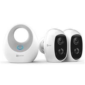 Kompletný set EZVIZ Battery Camera Duo Pack (2x C3A+1x W2D) (CS-W2D-B2-EUP)