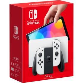 Herná konzola Nintendo SWITCH (OLED model) White Set (NSH008)