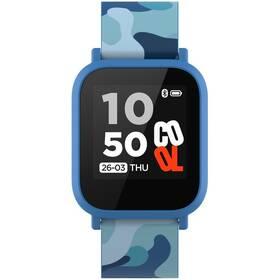 Inteligentné hodinky Canyon My Dino KW-33 - dětské (CNE-KW33BL) modrý