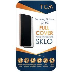 Tvrdené sklo TGM Full Cover na Samsung Galaxy S21 5G (TGMFCSAMS21) čierne