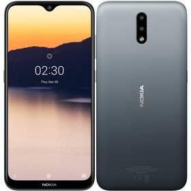 Mobilný telefón Nokia 2.3 (719901092471) sivý