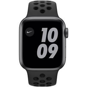 Inteligentné hodinky Apple Watch Nike Series 6 GPS 44mm púzdro z vesmírne sivého hliníka - antarcitový/čierny športový remienok Nike (MG173VR/A)