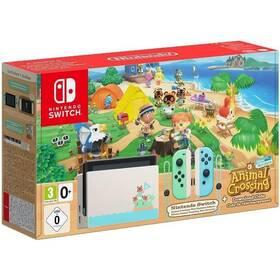Herná konzola Nintendo Switch s Joy-Con v2 - Animal Crossing bundle (NSH012)