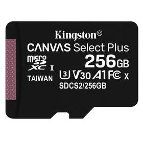 Pamäťová karta Kingston Canvas Select Plus MicroSDXC 256GB UHS-I U1 (100R/85W) (SDCS2/256GBSP)