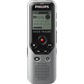 Diktafón Philips DVT1200 strieborný