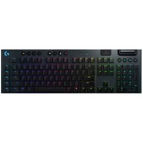 Klávesnica Logitech Gaming G915 Lightspeed RGB, Tactile, US (920-008910) čierna