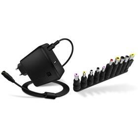 Sieťový adaptér Connect IT NomadPower univerzální pro notebooky 65 W + extra USB port (CNP-1650-BK)