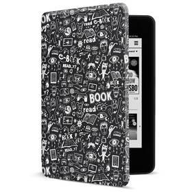 Puzdro pre čítačku e-kníh Connect IT Doodle pro Amazon Kindle Paperwhite 4 (2018) (CEB-1043-BK) čierne
