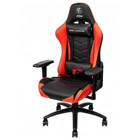 Herná stolička MSI MAG CH120 (9S6-B0Y10D-006) čierna/červená