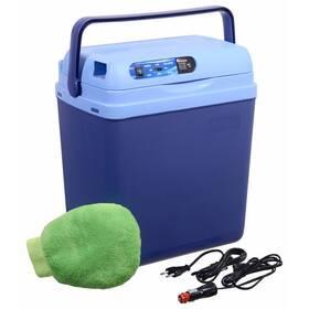 Chladiaci box Compass 25 l BLUE 220 / 12 V displej s teplotou