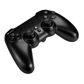 Gamepad Canyon s touchpadem pro PS4, bezdrátový (CND-GPW5) čierny