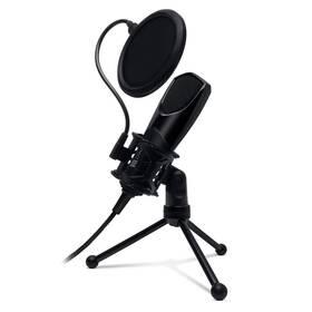 Mikrofón Connect IT YouMic s POP filtrem, USB (CMI-8001-BK) čierny