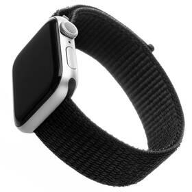 Remienok FIXED Nylon Strap na Apple Watch 42 mm/44 mm (FIXNST-434-BK) čierny