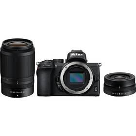 Digitálny fotoaparát Nikon Z50 + 16-50 VR + 50-250 VR (VOA050K002) čierny