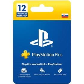 Predplatená karta Sony PLAYSTATION PLUS 12 MĚSÍCŮ – DÁRKOVÁ KARTA - pouze pro SK PS Store (PS719800552)