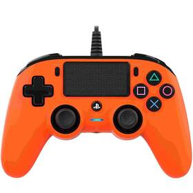 Gamepad Nacon Wired Compact Controller pro PS4 (ps4hwnaconwccorange) oranžový