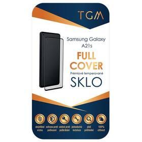 Tvrdené sklo TGM Full Cover na Samsung Galaxy A21s (TGMFCSAMGAA21S) čierne