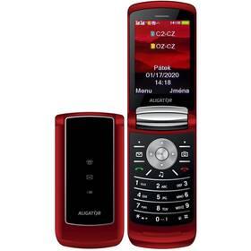 Mobilný telefón Aligator DV800 Dual SIM (ADV800R) červený