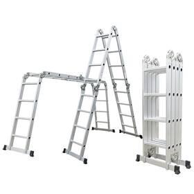 Rebrík G21 GA-SZ-4x4-4,6M multifunkční