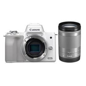 Digitálny fotoaparát Canon EOS M50 + EF-M18-150 (2681C042) biely
