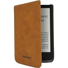 Puzdro pre čítačku e-kníh Pocket Book 616/627/628/632/633 (WPUC-627-S-LB) hnedé