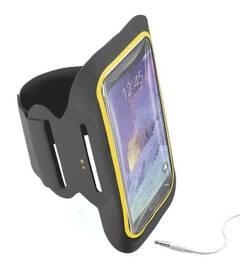 """Puzdro na mobil športové CellularLine Armband Fitness na 5,5"""" (ARMBANDFIT55K) čierne"""