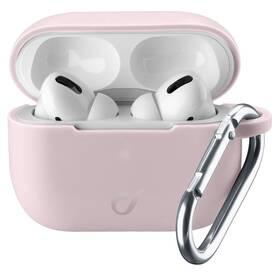 Puzdro CellularLine Bounce pro Apple AirPods Pro (BOUNCEAIRPODSPROP) ružové