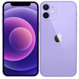 Mobilný telefón Apple iPhone 12 mini 64 GB - Purple (MJQF3CN/A)