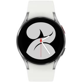 Inteligentné hodinky Samsung Galaxy Watch4 40mm (SM-R860NZSAEUE) strieborné