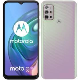 Mobilný telefón Motorola Moto G10 - Iridescent Pearl (PAMN0036PL)