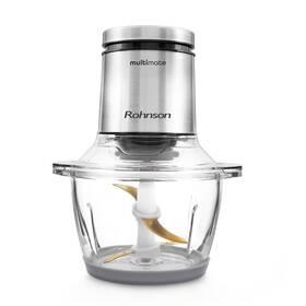 Sekáčik potravín Rohnson R-5115 Multimate strieborný/sklo