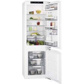 Kombinácia chladničky s mrazničkou AEG Mastery FlexiShelf SCE818D3LC biela