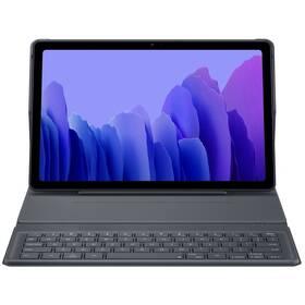 Púzdro s klávesnicou na tablet Samsung Galaxy Tab A7 (EF-DT500UJEGEU) sivé