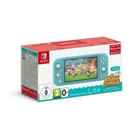 Herná konzola Nintendo Switch Lite + Animal Crossing: New Horizons + Nintendo SWITCH online předplatné na 3 měsíce (NSH130) modrá