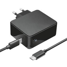 Sieťový adaptér Trust Maxo 61W pro notebooky Apple Macbook, USB-C PD (23418)