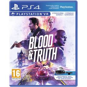 Hra 2K Games PlayStation 4 Blood and Truth VR (PS719999096)