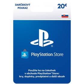 Predplatená karta Sony PlayStation Live Cards 20 EUR - pouze pro SK PS Store (PS719899440)