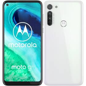 Mobilný telefón Motorola Moto G8 (PAHL0003PL) biely