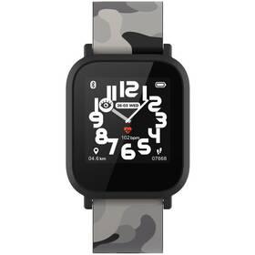Inteligentné hodinky Canyon My Dino KW-33 - dětské (CNE-KW33BB) čierny