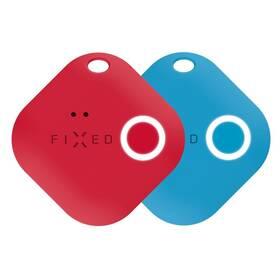 Kľúčenka FIXED Smile s motion senzorem, DUO PACK (FIXSM-SMM-RDBL) červená/modrá