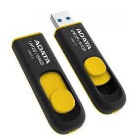 USB flash disk ADATA UV128 64GB (AUV128-64G-RBY) žltý