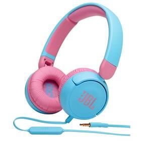 Slúchadlá JBL JR 310 modrá/ružová