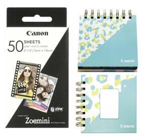 Fotopapier Canon ZP-2030, 50 x 76mm, 50ks, pro Zoemini + fotoalbum + stojánek (3215C007)