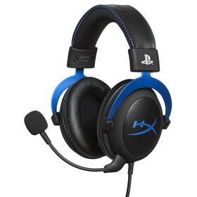 Headset HyperX Cloud Gaming pro PS4 (HX-HSCLS-BL/EM) čierny/modrý