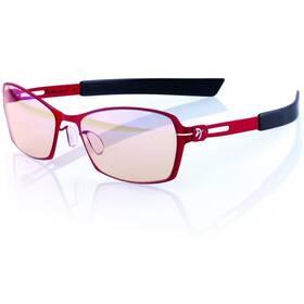 Herné okuliare Arozzi VISIONE VX-500, jantarová skla (VX500-5) čierne/červené